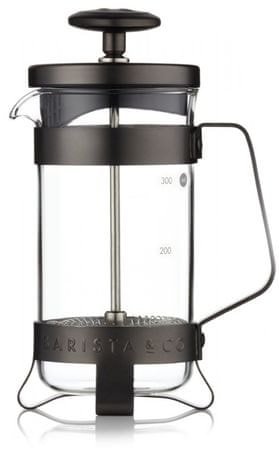 BARISTA&CO French press Gunmetal, 3 skodelice