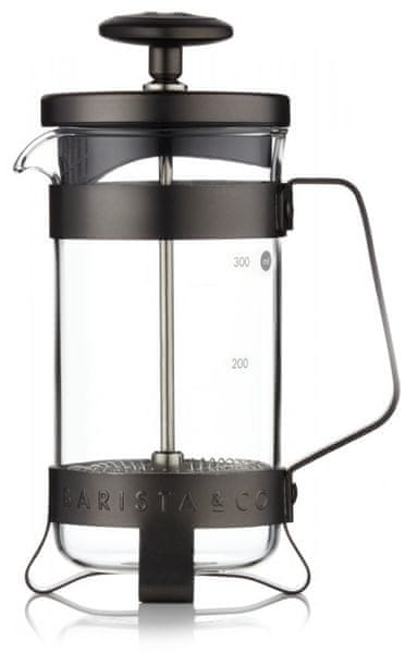 BARISTA&CO French press na 3 šálky Gunmetal