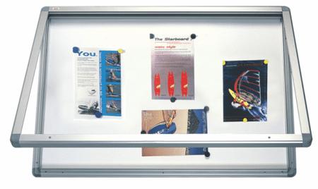 2x3 oglasna vitrina, magnetna 100x150 cm