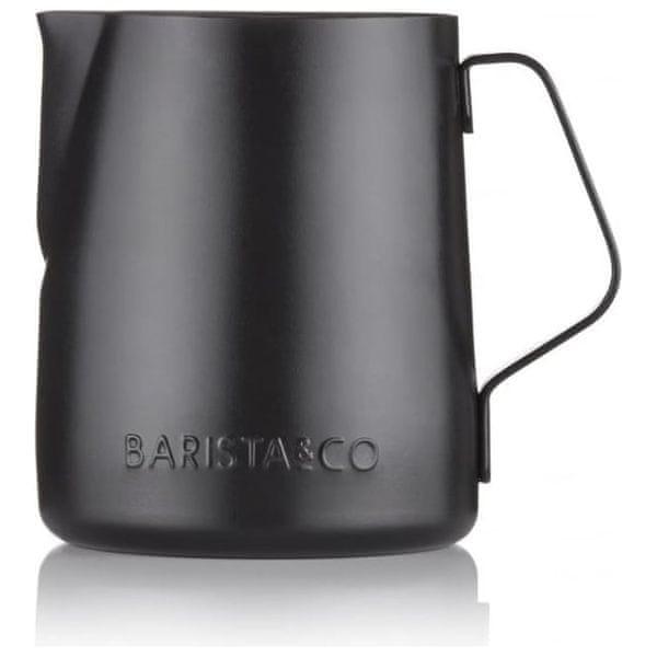 BARISTA&CO konvička na mléko 350 ml Gunmetal