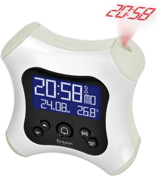 Oregon Scientific RM330PW Digitální budík s projekcí času