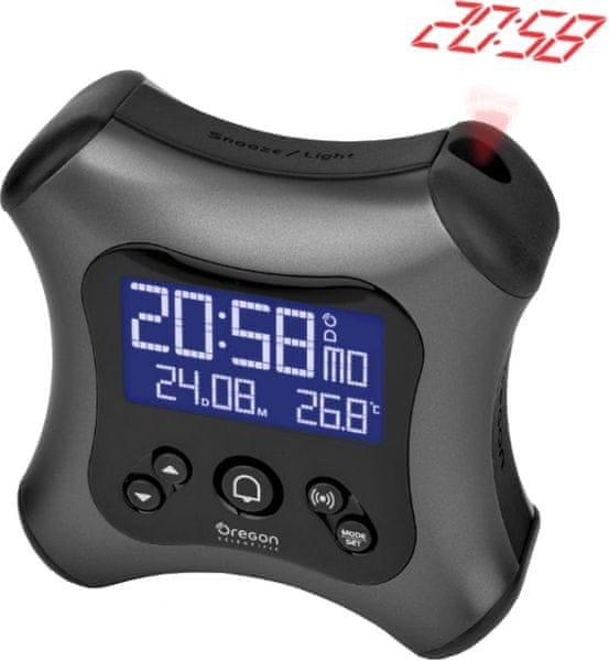Oregon Scientific RM330PG Digitální budík s projekcí času