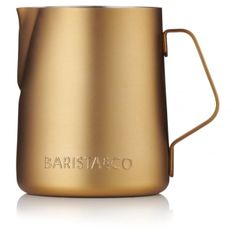 BARISTA&CO konvička na mléko 350 ml Electric Gold