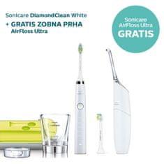 Philips set električna četkica za zube Sonicare Diamond Clean White HX9332/04 + oralni tuš Airfloss Ultra Wh