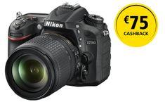 Nikon digitalni fotoaparat D7200 + 18-105 VR