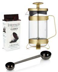 BARISTA&CO darilni set za pripravo kave Electric Gold