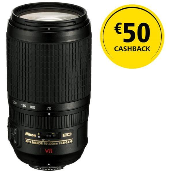 Nikon Nikkor AF-S 70-300 f/4,5-5,6 G IF-ED VR