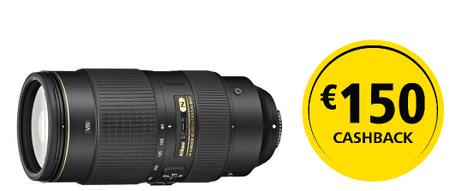 Nikon AF-S NIKKOR 80–400 mm 80-400 ED VR