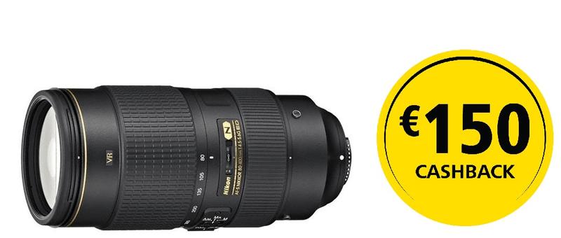 Nikon Nikkor AF-S 80-400 mm f/4,5-5,6 G ED VR + 4000 Kč od Nikonu zpět!