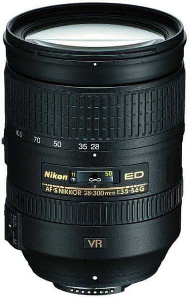 Nikon Nikkor AF 28-300 /3,5-5,6 G ED VR + 1350 Kč od Nikonu zpět!