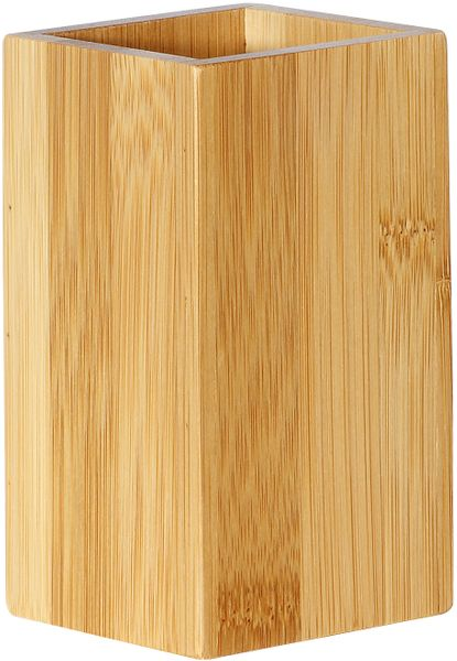 TimeLife Držák na zubní kartáčky, bambus