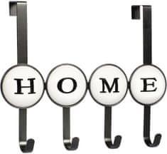TimeLife Věšák na dveře Home, 4 háčky