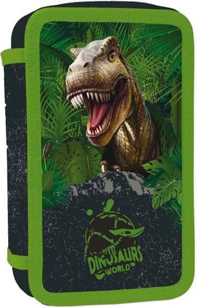 Karton P+P Penál 3 patrový T-rex
