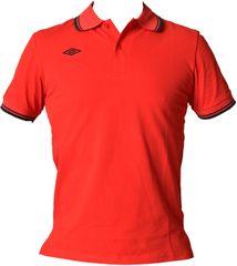 Umbro moška polo majica True, rdeče-modra