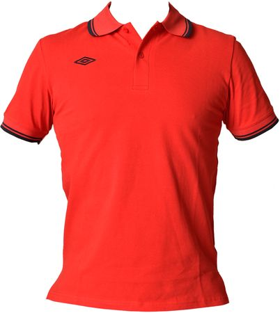 Umbro moška polo majica True, rdeče-modra, XXXL