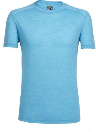 Icebreaker koszulka sportowa Mens Sphere SS Crewe Capri Hthr XL
