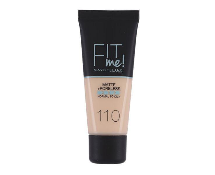 Maybelline Sjednocující make-up s matujícím efektem Fit Me! (Matte & Poreless Make-Up) 30 ml (Odstín 115 Ivory)
