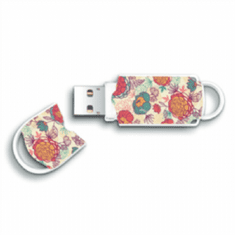 Integral ključek Xpression Flower 64 GB USB 2.0, pisan