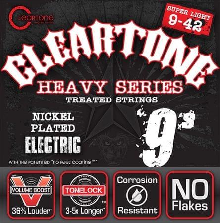 Cleartone 9509 Struny na elektrickú gitaru