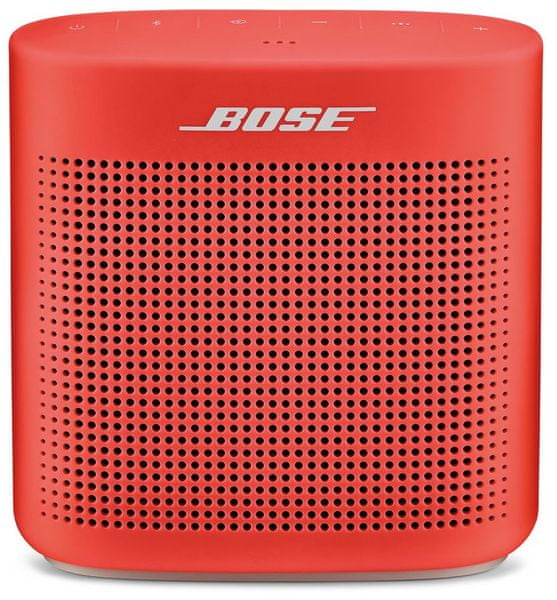 Bose SoundLink Color Bluetooth speaker II, červená