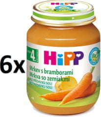HiPP BIO Karotka s brambory - 6 x 125g