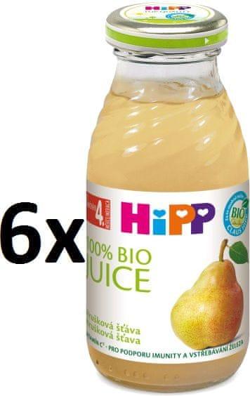 HiPP Hrušková šťáva - 6x200ml