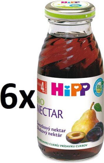 HiPP BIO Švestkový nektar - 6x200ml