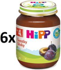 HiPP BIO Slivky - 6 x 125g