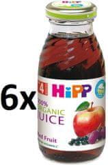 HiPP BIO Šťáva z červených plodů - 6x200ml