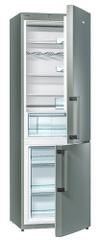 Gorenje RK6192AX Kombinált hűtőszekrény, 321 l, A++