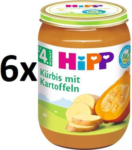 HiPP BIO Dýně s bramborami - 6x190g