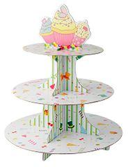 Fackelmann Stojan na cupcakes, papierový