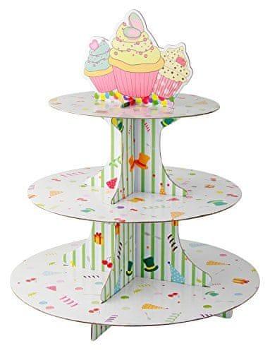 Fackelmann Stojan na cupcakes, papírový