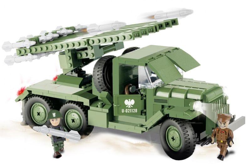 Cobi SMALL ARMY ZIL-157 KAŤUŠA BM-13