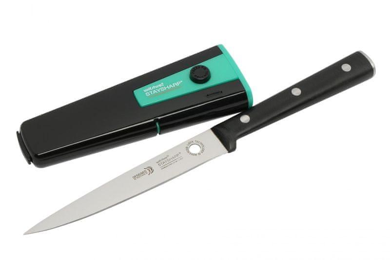 Fackelmann Nůž univerzální 13cm, s brousícím krytem
