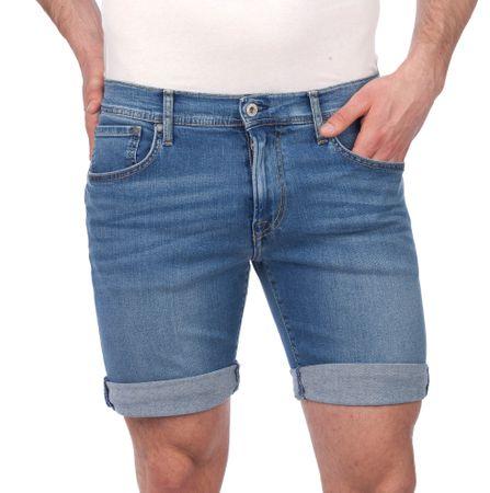 Pepe Jeans moške kratke hlače Cane 33 modra
