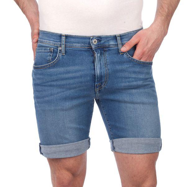 Pepe Jeans pánské kraťasy Cane 34 modrá