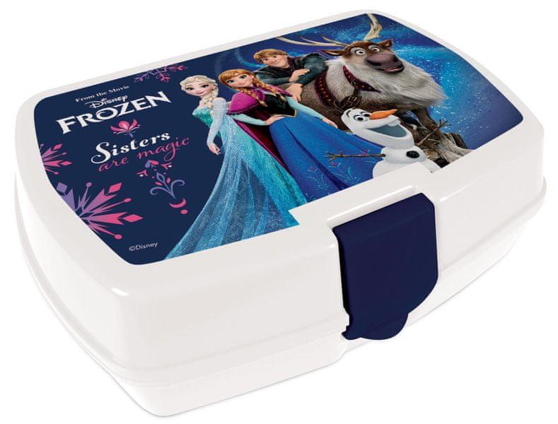Karton P+P Box na svačinu Frozen IV