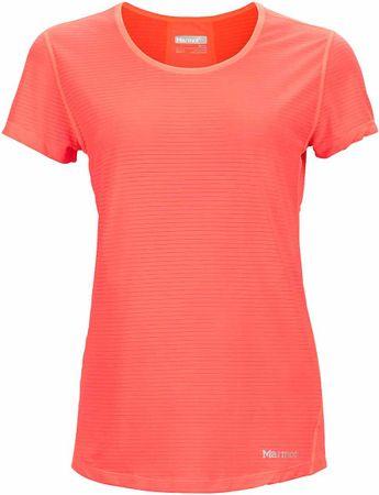 Marmot ženska majica Aero SS Neon Coral, M