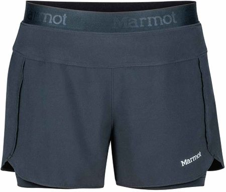 Marmot spodenki Wm's Pulse Short Black S