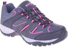 Hi-Tec Sarapo Low Wo'S Black/D Grey/D Fuchsia