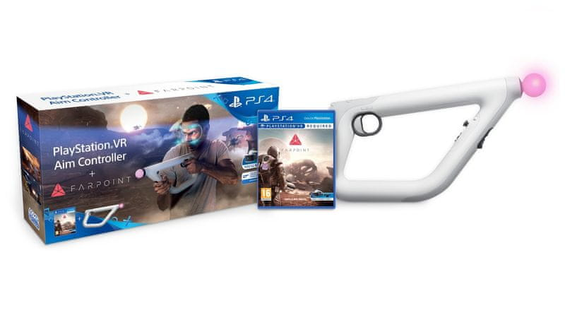 Sony PS4 Farpoint VR + Aim Controller