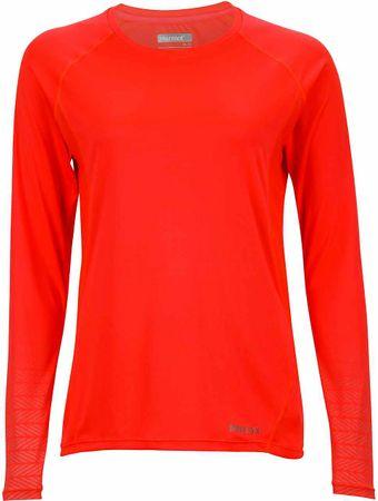 Marmot ženska majica Crystal LS Neon Coral, S