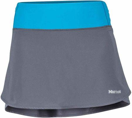 Marmot Wm's Pace Skort Dark Charcoal/Slate Blue L