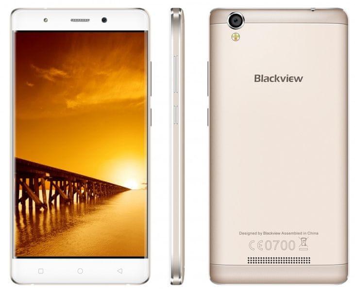 iGET Blackview A8G Max, Dual SIM, zlatý