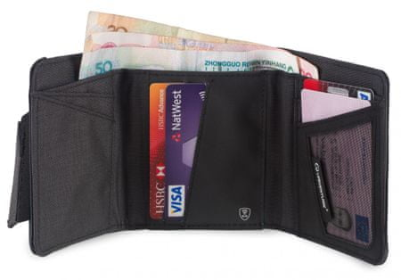 Lifeventure RFID Protected Tri-Fold Wallet