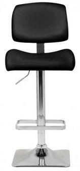 barski stol Liri, črn