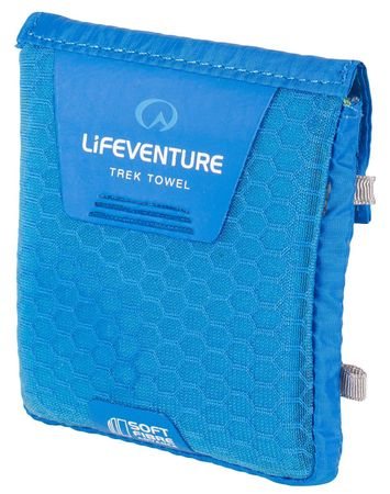 Lifeventure Ręcznik SoftFibre Trek Towel Advance pocket blue