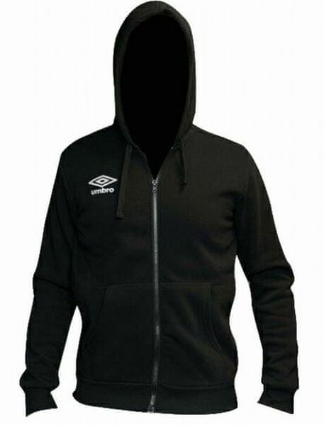 Umbro Mikina hooded full zip Black M