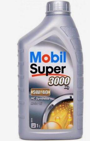 Mobil motorno olje Super 3000 X1 5W-40, 1 l